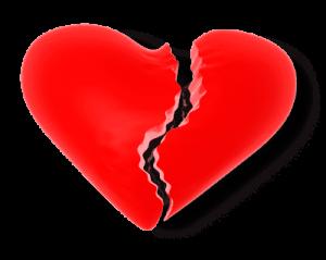 Liebeskummer und Trennung oder Verlust verarbeiten
